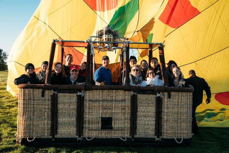 Hot Air Balloon Napa Valley Group