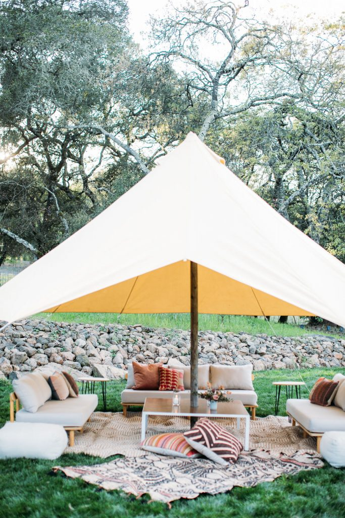 Tented Lounge