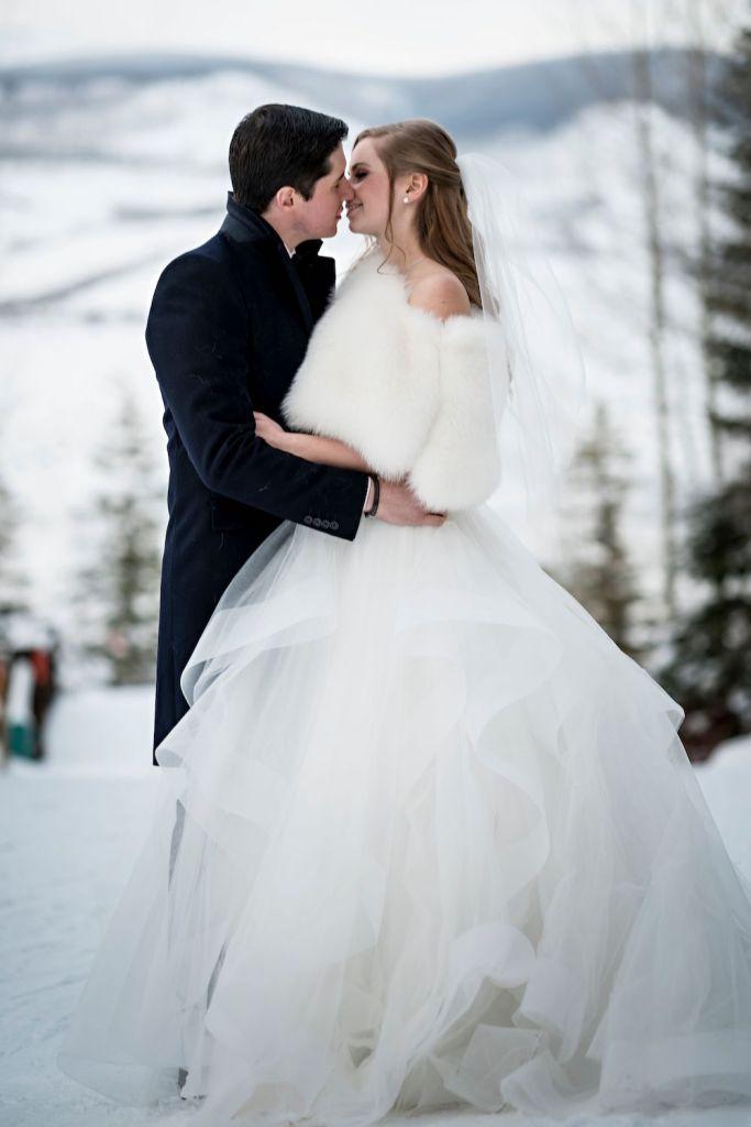 groom in wool overcoat