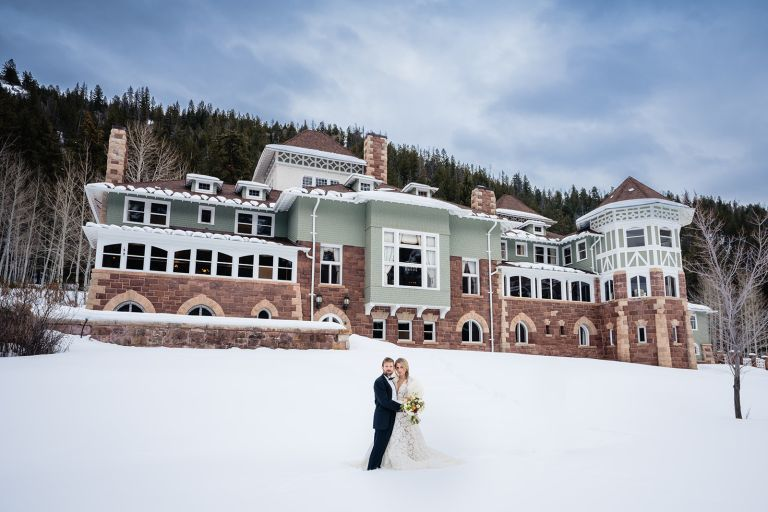 The Redstone Castle winter wedding