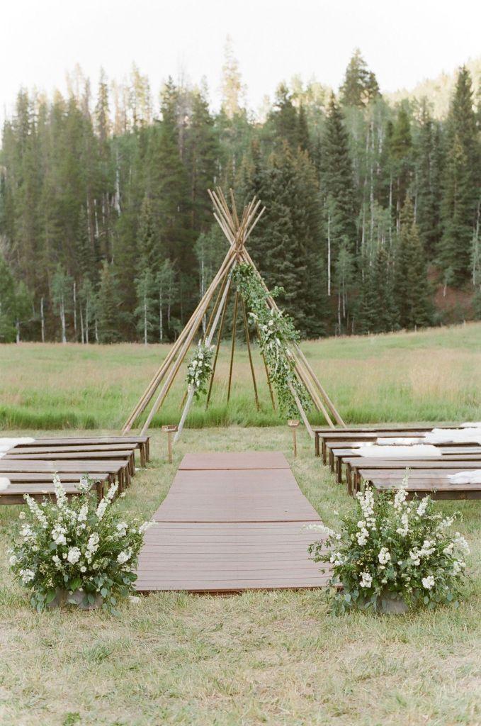 bella-outdoor-wedding-ceremony-ideas-teepee-arch