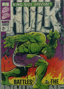 Incredible-Hulk-Annual-1-214x300 The Original Cover Artist: Jim Steranko