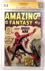 Stan-Lee-Amazing-Fantasy-15-192x300 Collecting 101: Getting a Comic Signed
