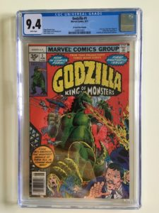 9210773-225x300 Movie Based Comic Books: Godzilla