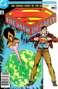 Comic_Book_-_Man_of_Steel_1_1986-196x300 Comic Cover Trivia and Firsts