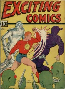 Exciting-COmics-221x300 Exciting Comics from the Golden Age on Auction