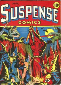Suspense-Comics-215x300 Golden Age Suspense Comics on Auction with Heritage