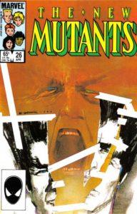 New-Mutants-26-192x300 Modern Art Collection: Bill Sienkiewcz's New Mutants