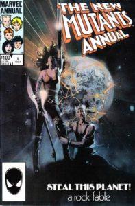 New-Mutants-Annual-1-197x300 Modern Art Collection: Bill Sienkiewcz's New Mutants
