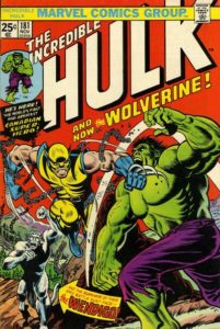 HULK181-201x300 It Is Inevitable: Hulk vs. Wolverine