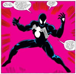 black-suit-300x294 The Five Most Important Marvel Comic Panels