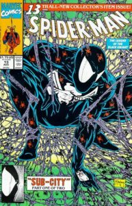 Spider-man-13-193x300 Ten Key Newsstand Variants from the 1990s Comic Boom
