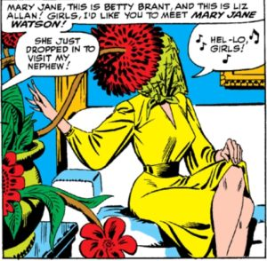 ASM-25-page-15-panel-300x294 The Amazing Mary Jane: M.J.'s Early Appearances