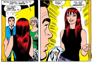 ASM-42-panel-300x203 The Amazing Mary Jane: M.J.'s Early Appearances