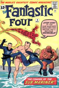 Fantastic-Four-4-203x300 Sub-Mariner #1: Profitable or Fishy?