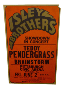 vintage-isley-brothers-concert-poster-pendergrass-218x300 Determining which version of the Isley Brothers to collect