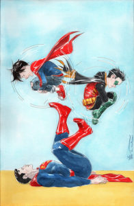 726099_super-sons-15-variant-cover-196x300 Completing the Run: Dustin Nguyen's Super Sons Covers