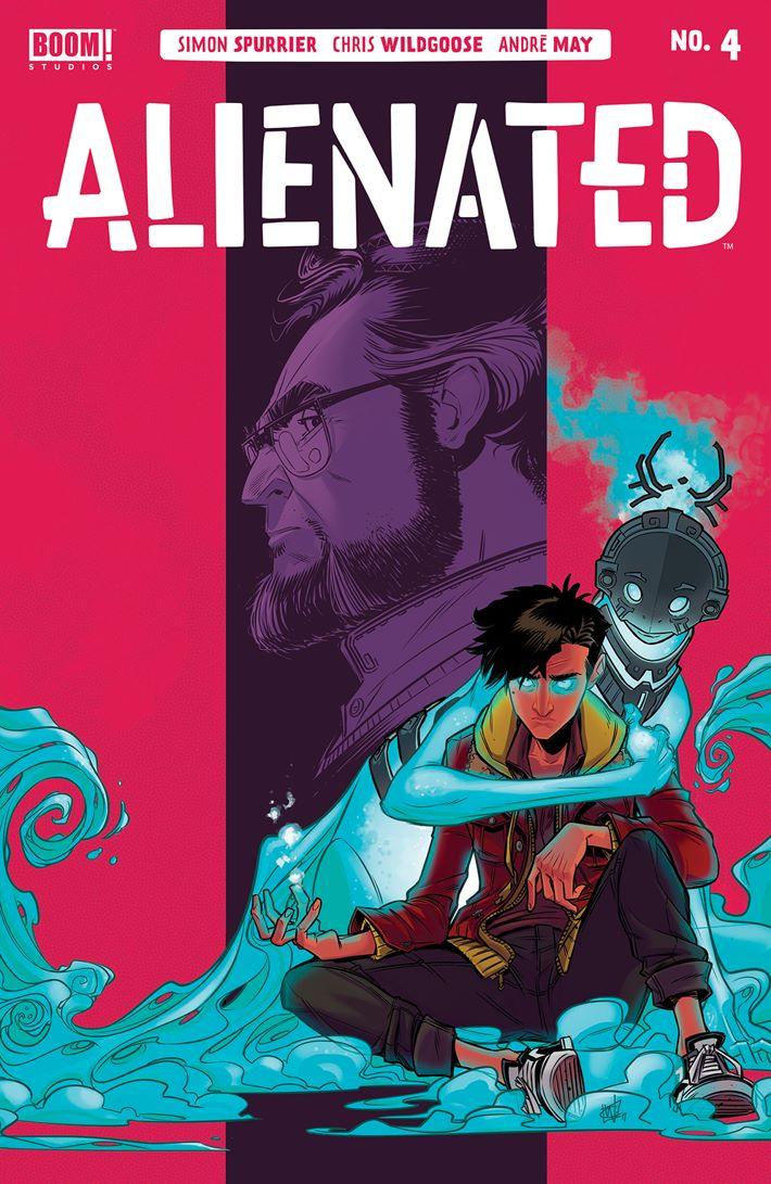 Alienated_004_Cover_Main ComicList Previews: ALIENATED #4