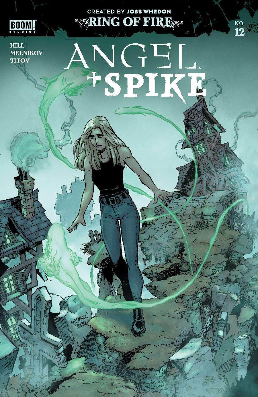 Angel_012_Cover_CharacterSpotlight ComicList Previews: ANGEL AND SPIKE #12