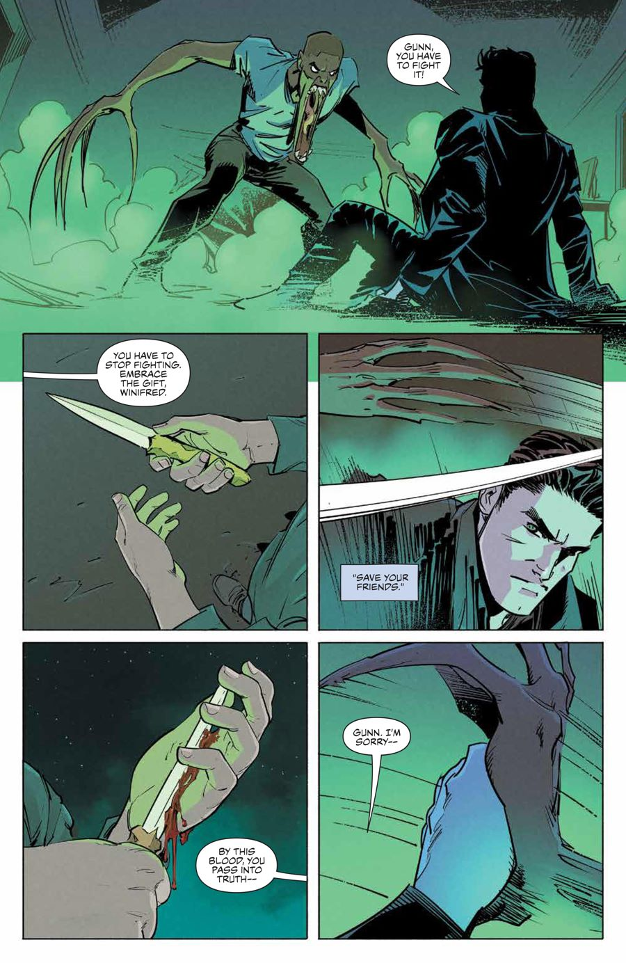 Angel_012_PRESS_7 ComicList Previews: ANGEL AND SPIKE #12