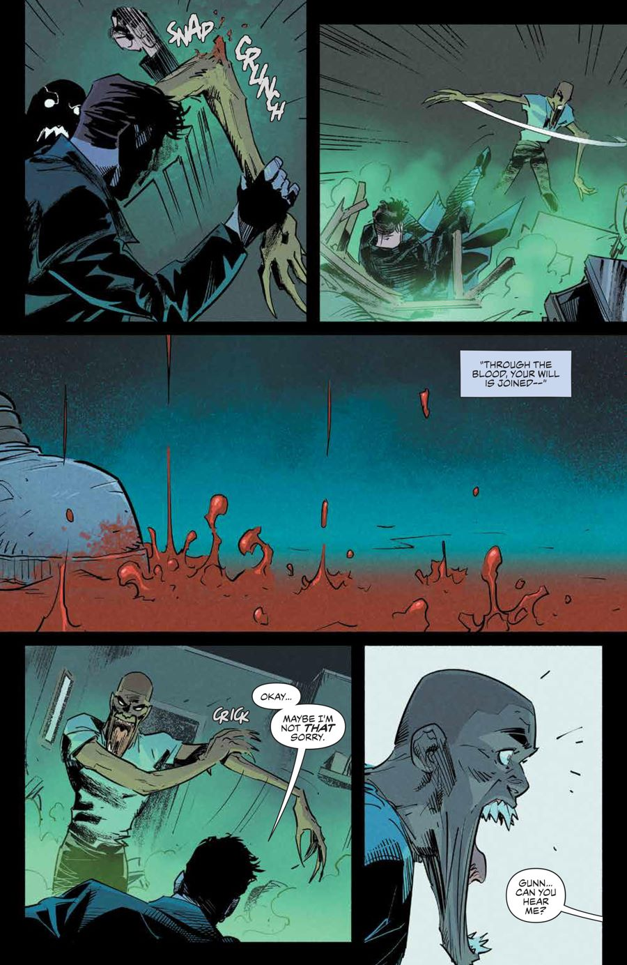 Angel_012_PRESS_8 ComicList Previews: ANGEL AND SPIKE #12