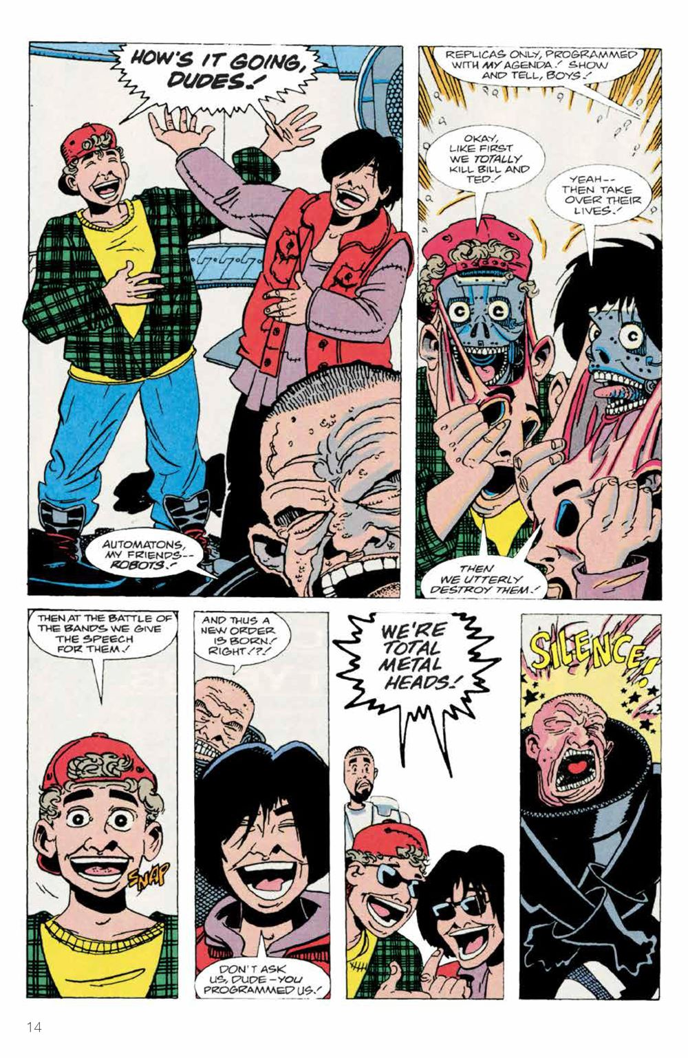 BillTed_Archive_SC_PRESS_16-1 ComicList Previews: BILL AND TED'S EXCELLENT COMIC BOOK ARCHIVE TP