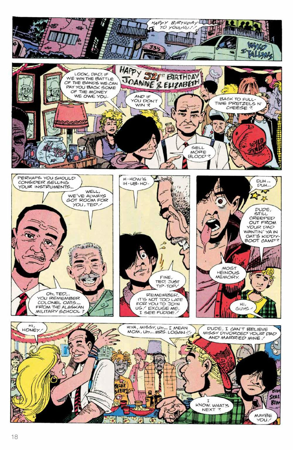 BillTed_Archive_SC_PRESS_20-1 ComicList Previews: BILL AND TED'S EXCELLENT COMIC BOOK ARCHIVE TP