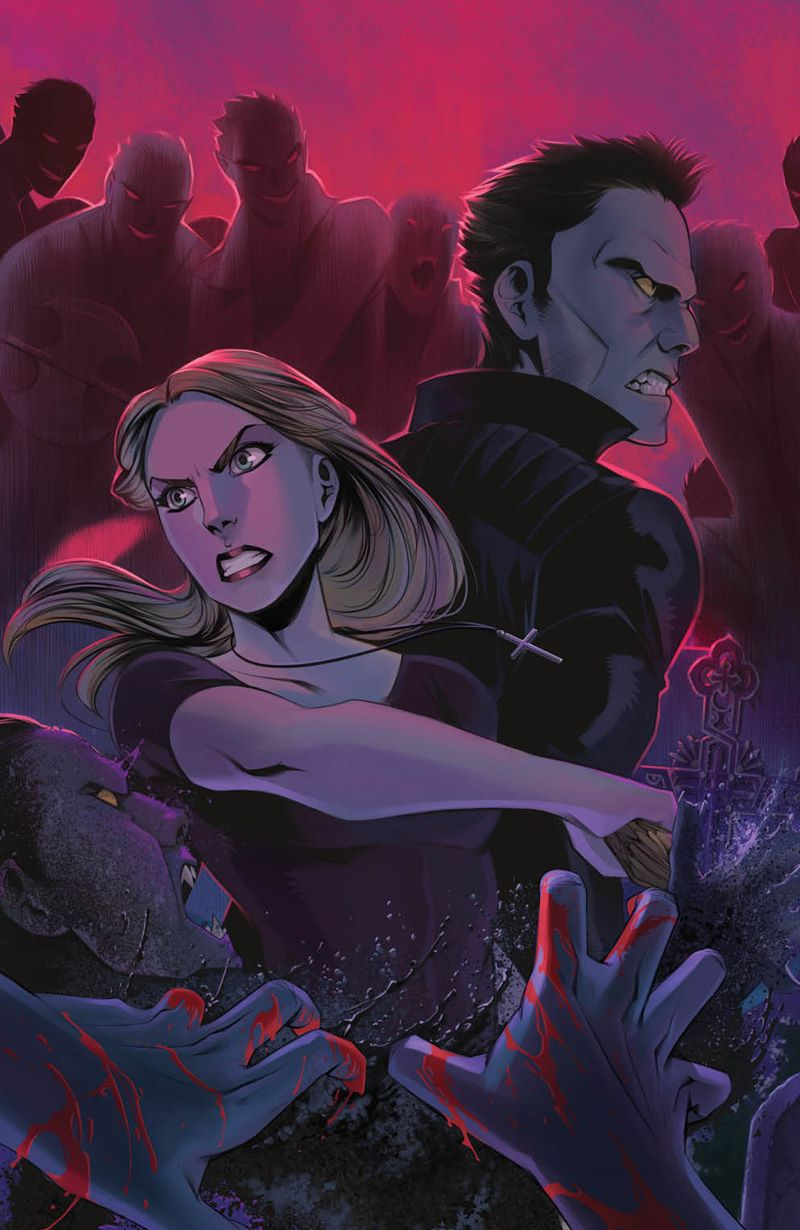 Buffy_016_Cover_RingofFire ComicList Previews: BUFFY THE VAMPIRE SLAYER #16
