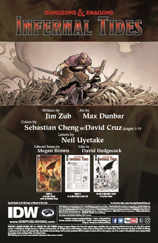 DD_IT04-pr-2 ComicList Previews: DUNGEONS AND DRAGONS INFERNAL TIDES #4