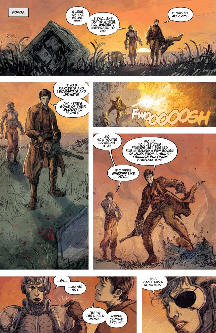 Firefly_017_PRESS_3 ComicList Previews: FIREFLY #17