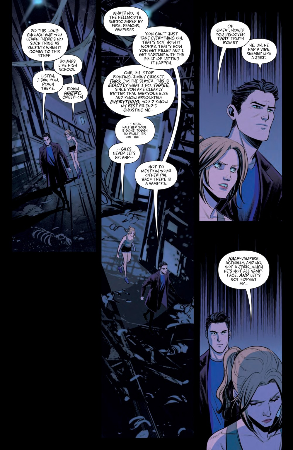 Hellmouth_SC_PRESS_20 ComicList Previews: BUFFY THE VAMPIRE SLAYER HELLMOUTH TP