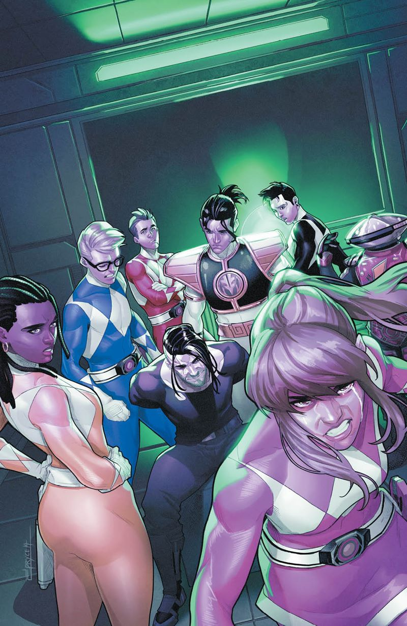 MMPR_052_Cover_Variant ComicList: BOOM! Studios New Releases for 07/29/2020
