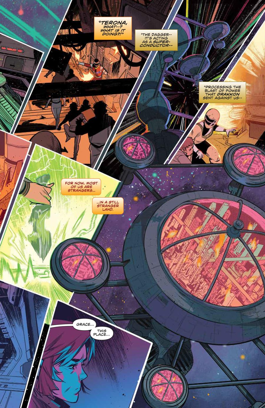 MMPR_BeyondGrid_SC_PRESS_11 ComicList Previews: MIGHTY MORPHIN POWER RANGERS BEYOND THE GRID TP