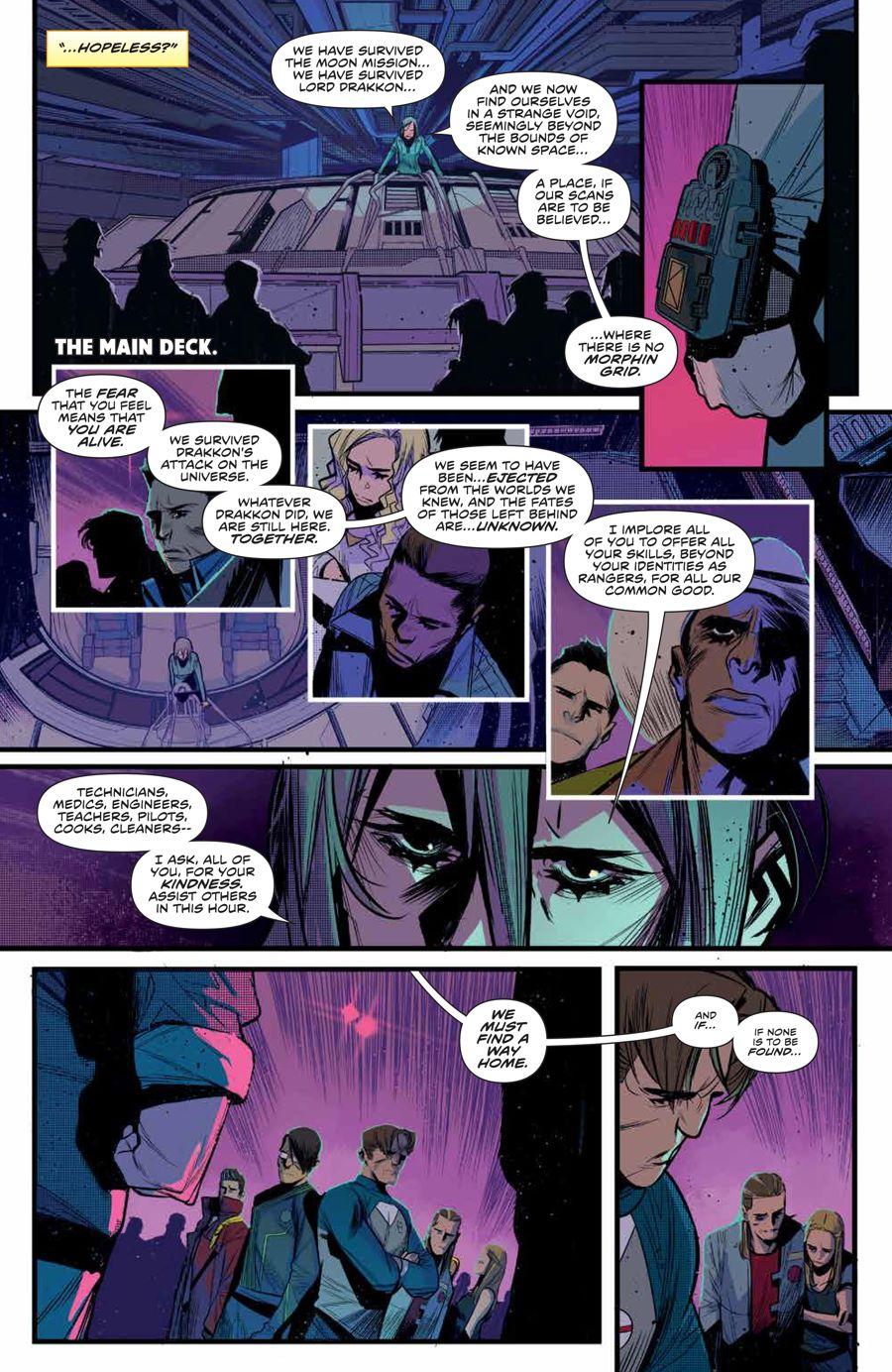 MMPR_BeyondGrid_SC_PRESS_17 ComicList Previews: MIGHTY MORPHIN POWER RANGERS BEYOND THE GRID TP