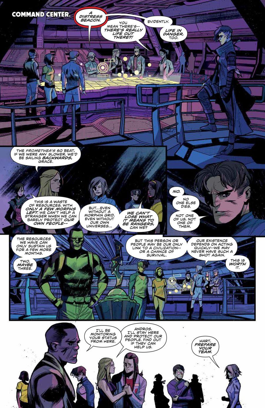 MMPR_BeyondGrid_SC_PRESS_20 ComicList Previews: MIGHTY MORPHIN POWER RANGERS BEYOND THE GRID TP