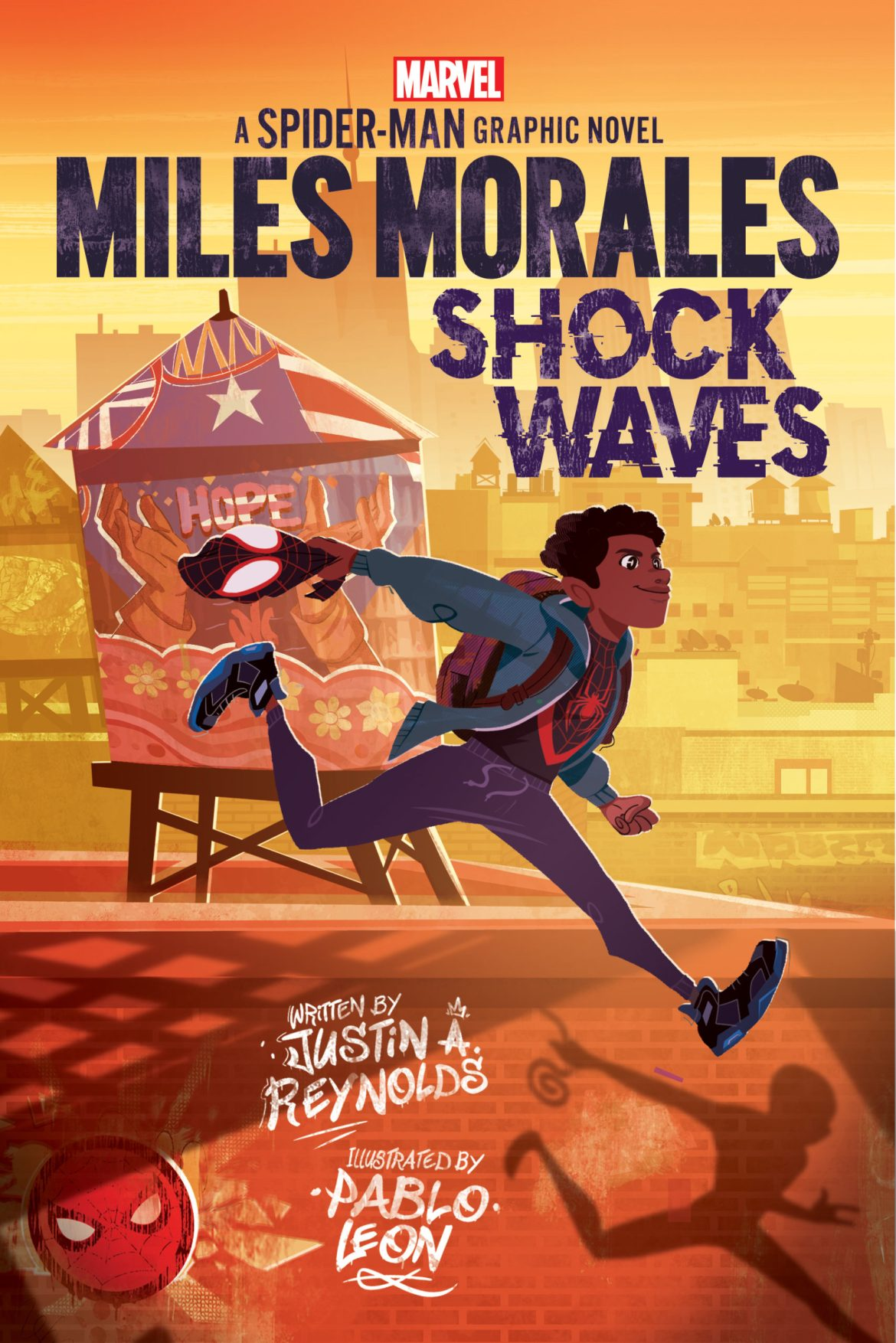 MileMoralesSW_Scholastic_cover-scaled Marvel and Scholastic launch graphic novel line targeted at young readers