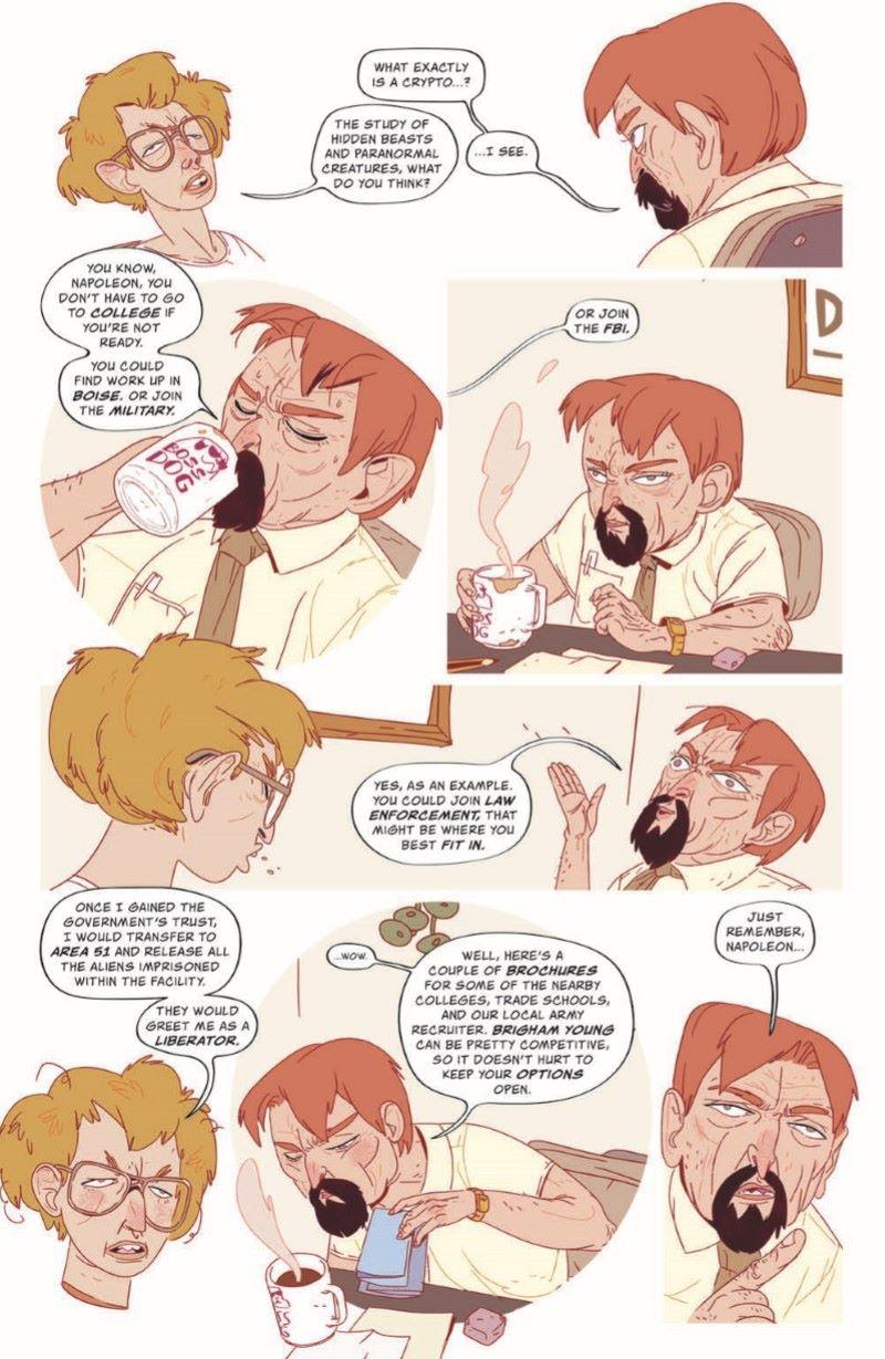 Napoleon_TPB_pr-5 ComicList Previews: NAPOLEON DYNAMITE IMPEACH PEDRO TP
