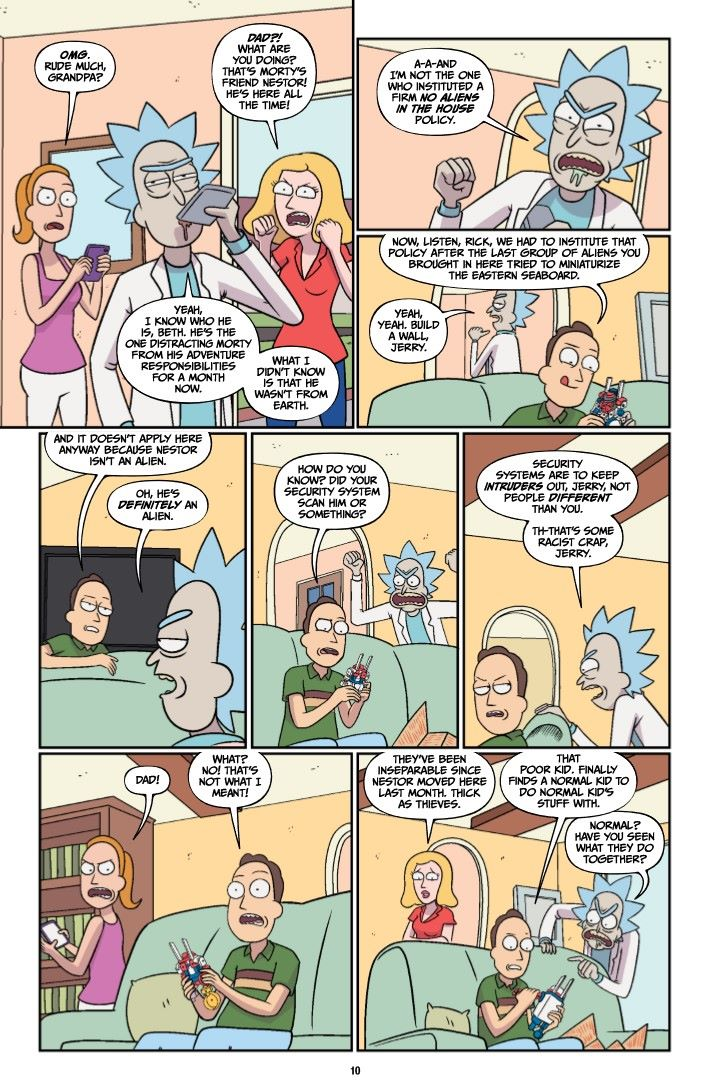 RICKMORTY-V11-TPB-REFERENCE-011 ComicList Previews: RICK AND MORTY VOLUME 11 TP