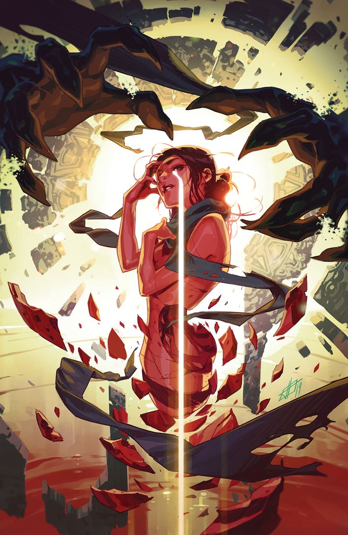 RedMother_006_Cover_Variant ComicList Previews: THE RED MOTHER #6