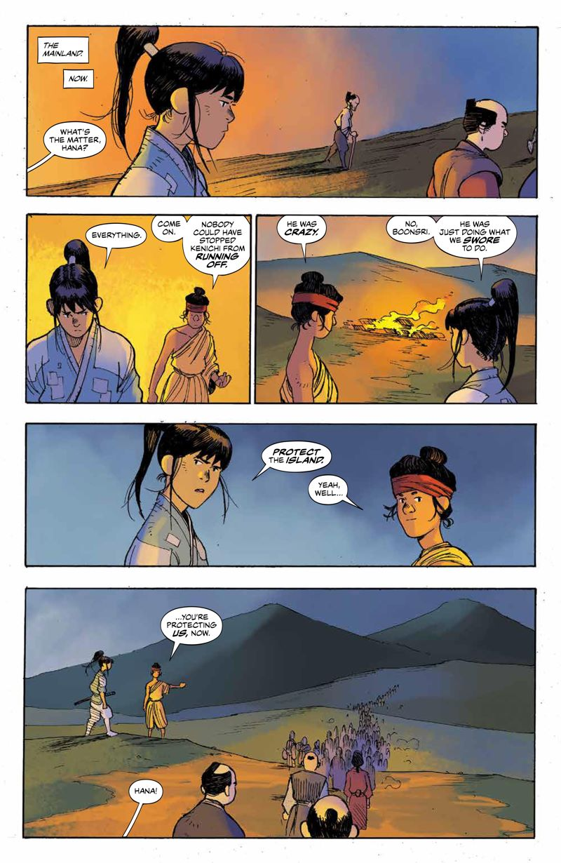 RoninIsland_v2_SC_PRESS_12 ComicList Previews: RONIN ISLAND VOLUME 2 TP