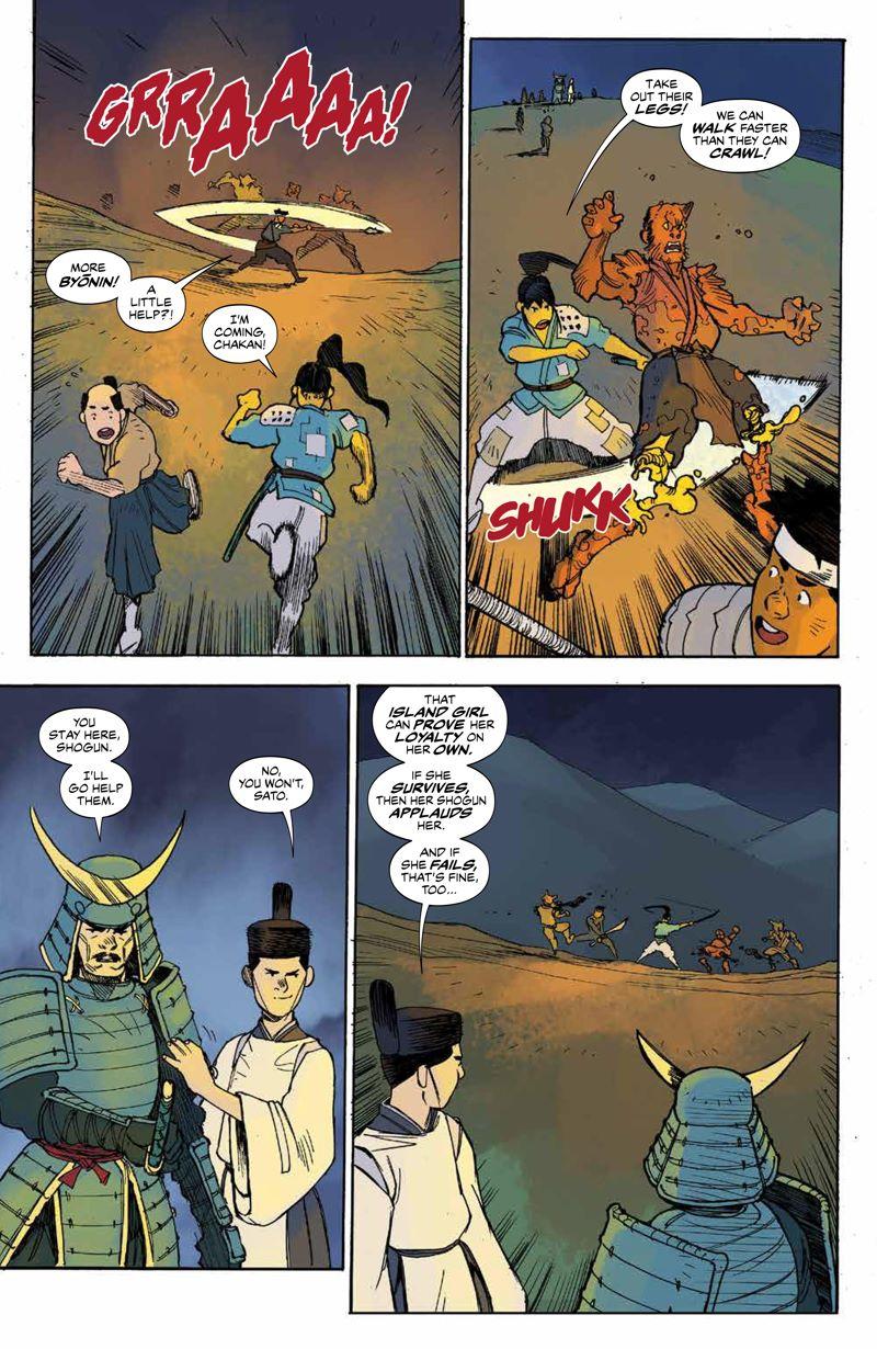 RoninIsland_v2_SC_PRESS_13 ComicList Previews: RONIN ISLAND VOLUME 2 TP