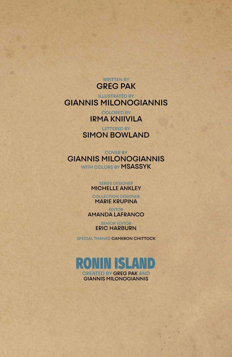 RoninIsland_v2_SC_PRESS_7 ComicList Previews: RONIN ISLAND VOLUME 2 TP