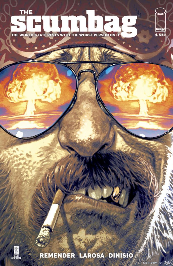 Scumbag01-CoverA-Tagline_c6815a0147f8285e3b5042ebb3626151 Artists will rotate this October in Rick Remender's SCUMBAG