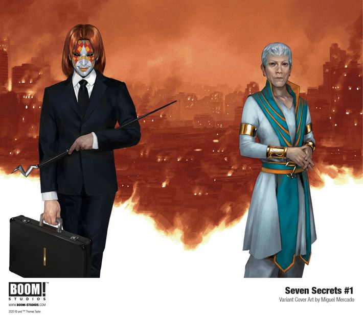 SevenSecrets_001_Cover_Wraparound_PROMO-2 First Look at BOOM! Studios' SEVEN SECRETS #1