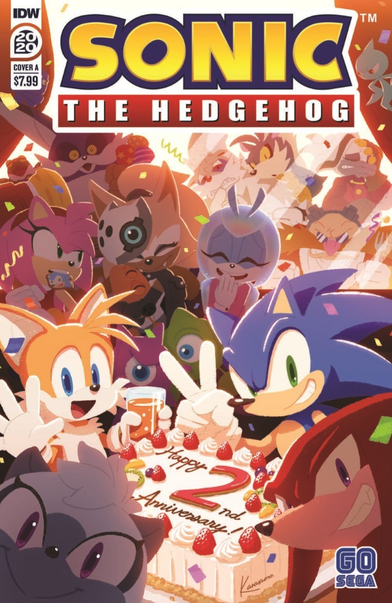 SonicAnnual2020_pr-1 ComicList Previews: SONIC THE HEDGEHOG ANNUAL 2020