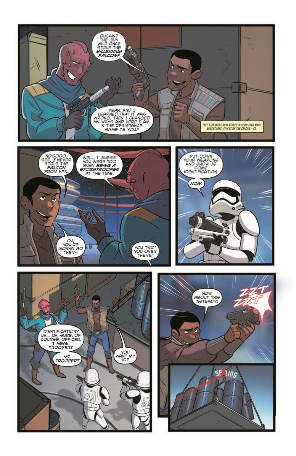 StarWarsAdv32-pr-1-4 ComicList Previews: STAR WARS ADVENTURES #32