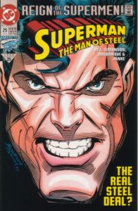Superman-Man-of-Steel-25-196x300 Low-Risk Speculation: Superman #25 and the Black Suit