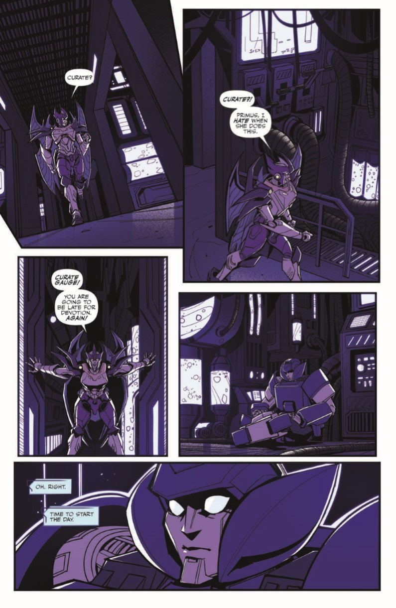 TF_Galaxies_07_pr-3 ComicList Previews: TRANSFORMERS GALAXIES #7