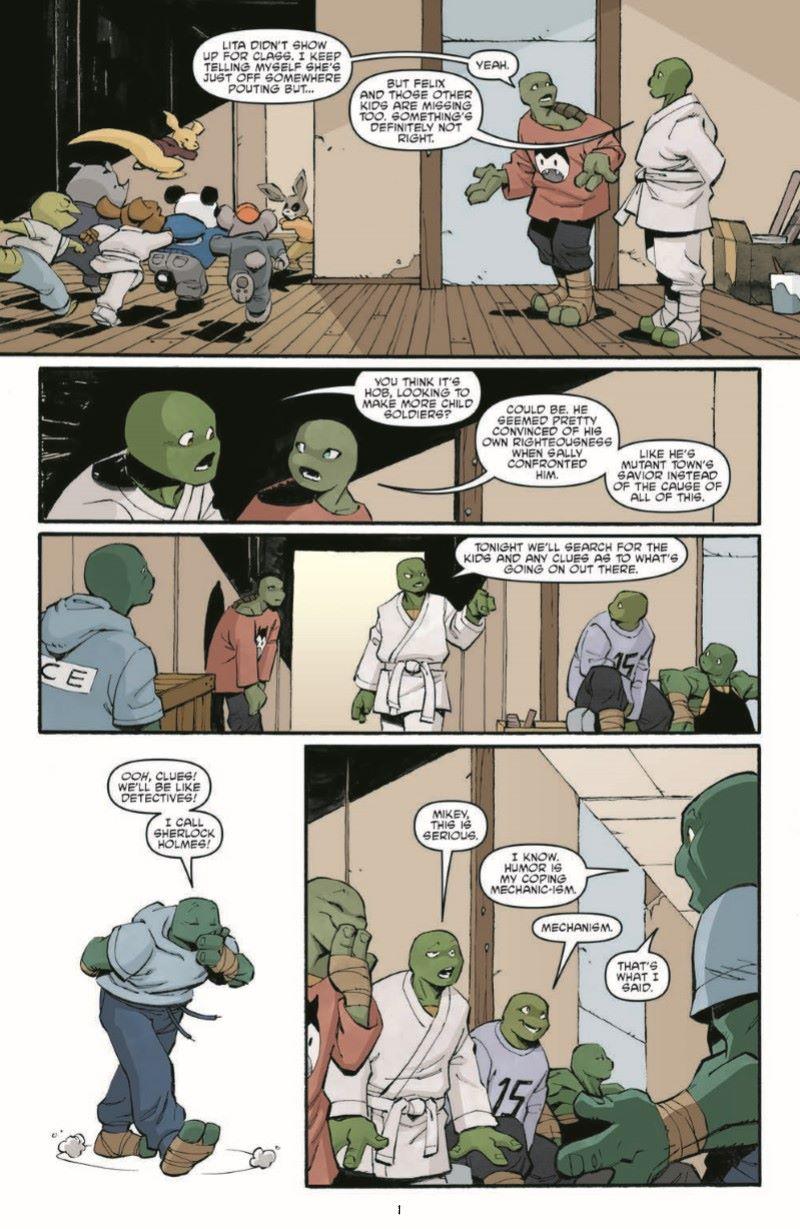 TMNT107_pr-3 ComicList Previews: TEENAGE MUTANT NINJA TURTLES #107