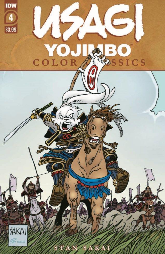 Usagi-CC04_pr-1 ComicList Previews: USAGI YOJIMBO COLOR CLASSICS #4